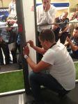 Процесът на състезанието, затаени погледи в очакване на нов рекорд