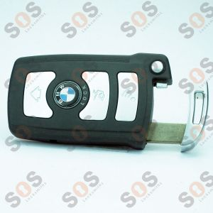 Smart key shell for BMW 6 and 7 series