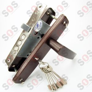 DOOR LOCK + HANDLE 55/50