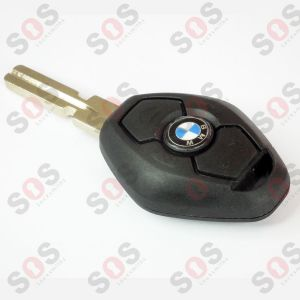 ORIGINAL KEY  BMW E39 433.91 MHz HU58