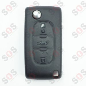 ORIGINAL REMOTE FLIP KEY FOR PEUGEOT
