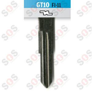 GT10 Накрайник - Блейд за Fiat