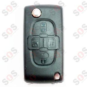 Оригинален ключ за Peugeot 1007