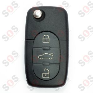 ORIGINAL KEY FOR AUDI 4D0837231P