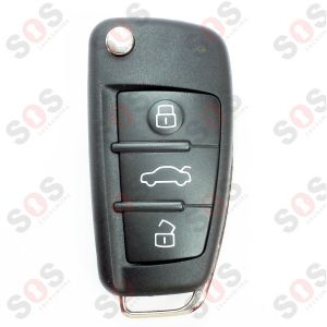 ORIGINAL KEY FOR AUDI 4F0837220R