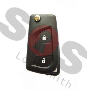 Оригинален ключ за Peugeot 107