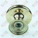 HANDLE BALL - GOLD CHROME