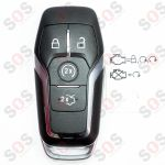 Keyless GO за Ford Fusion