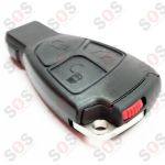 Mercedes-Benz 3 Button Remote Key