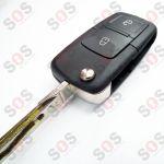 Сгъваем ключ за Seat 1J0959753CT / AG