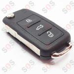 Оригинален ключ за Skoda 5K0959753N